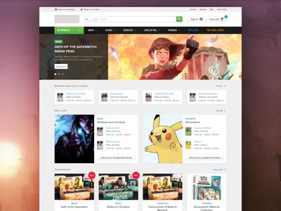 New Homepage atomic design sketch app responsive ux prototype analytics redesign user interface web ecommerce