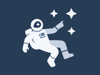 Mapbox Explorer space man map pin spaceman helmet star space astronaut map branding brand logo mapbox