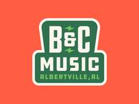 B&C Music Badge
