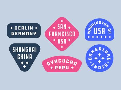 Mapbox Badge Comps