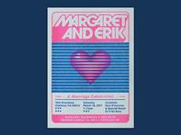 Margaret and Erik Wedding Invite
