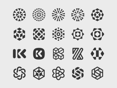 Kaleido Logomark Evolution