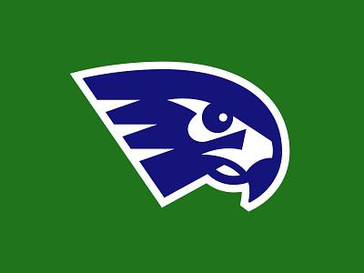 Seahawk Logo basketball football hawk washington dc north carolina athletics sports logo animal logo branding seahawk logo design logo