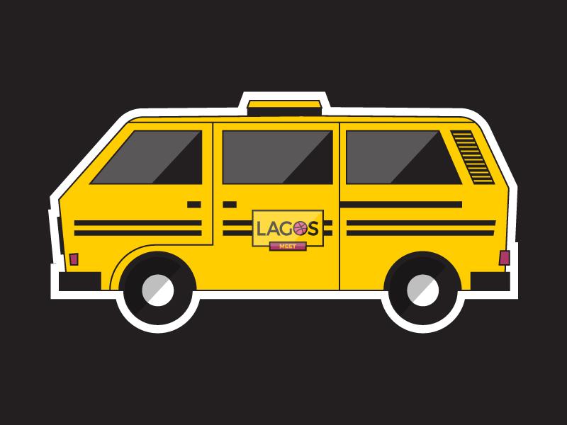 Lagos Dribbble Meet - Danfo lasgidi nigeria lagos meetup volkswagen transporter cokards dribbble lagosmeet danfo