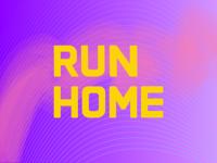 Run Home - Logotype Exploration