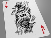 Jack Of Hearts Dribbble
