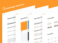 Knowledge Services – Style Sheet