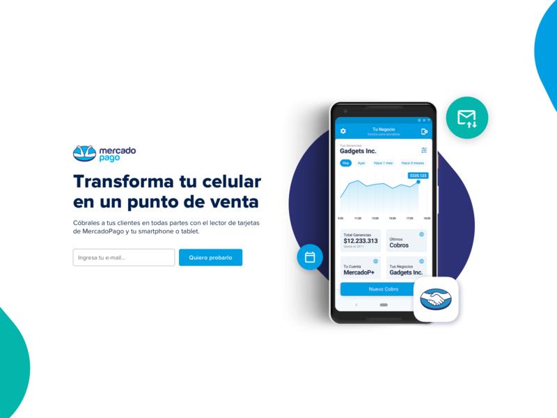 Mercado Pago Work Trial ux shadow ui money graph investment android app work trial mercadopago