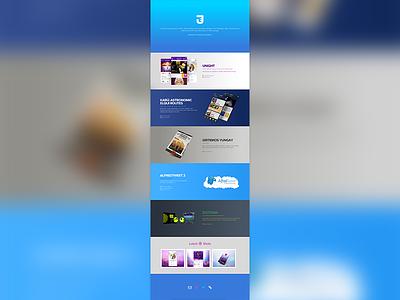 Personal Portfolio Redesign web jovotrox redesign html5 css3 brackets responsive unight karu iphone ios android