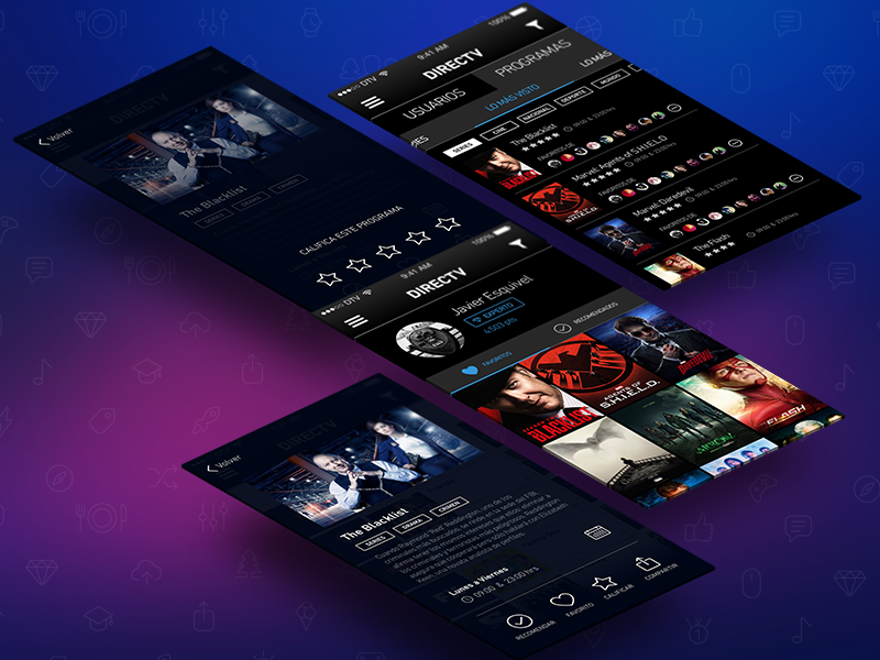 TV Discovery app [WIP] wip recommend filter screens posters star share movies series tv app ios