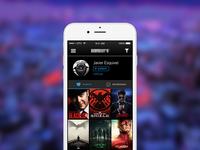 TV Discovery App - Profile