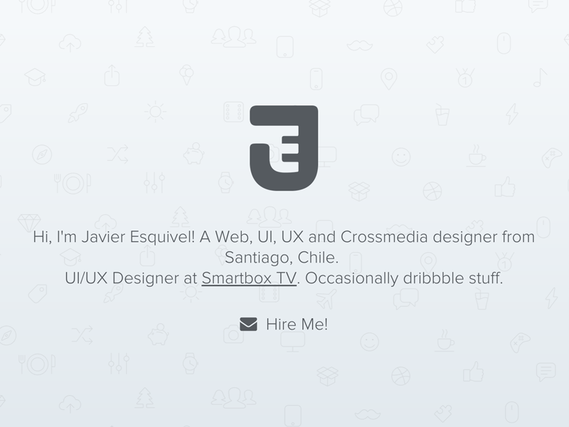 Portfolio Refresh responsive ux ui santiago chile crossmedia personal logo portfolio web