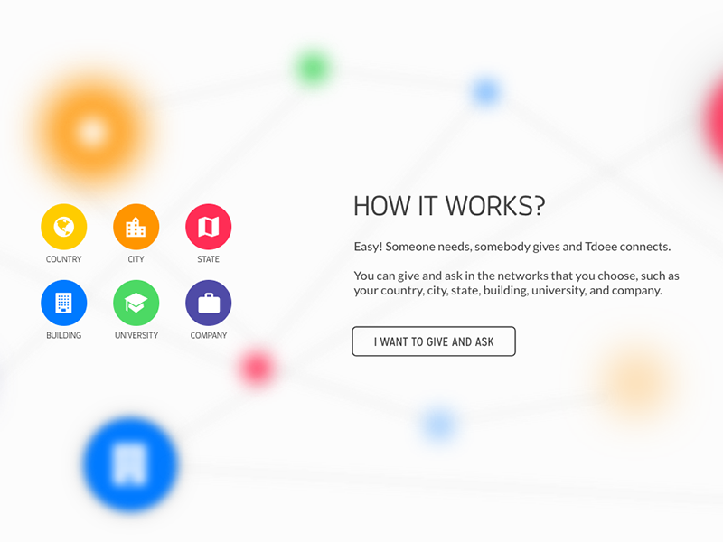 How it works? sketchapp ui design colors icon parallax web tdoee