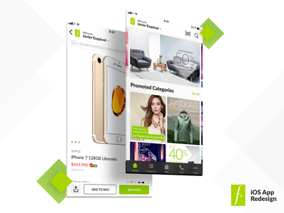 Falabella iOS Redesign Concept iphone android ios 11 falabella redesign app ux ios