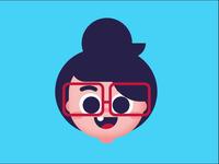Face of wonder with Joystick Slider