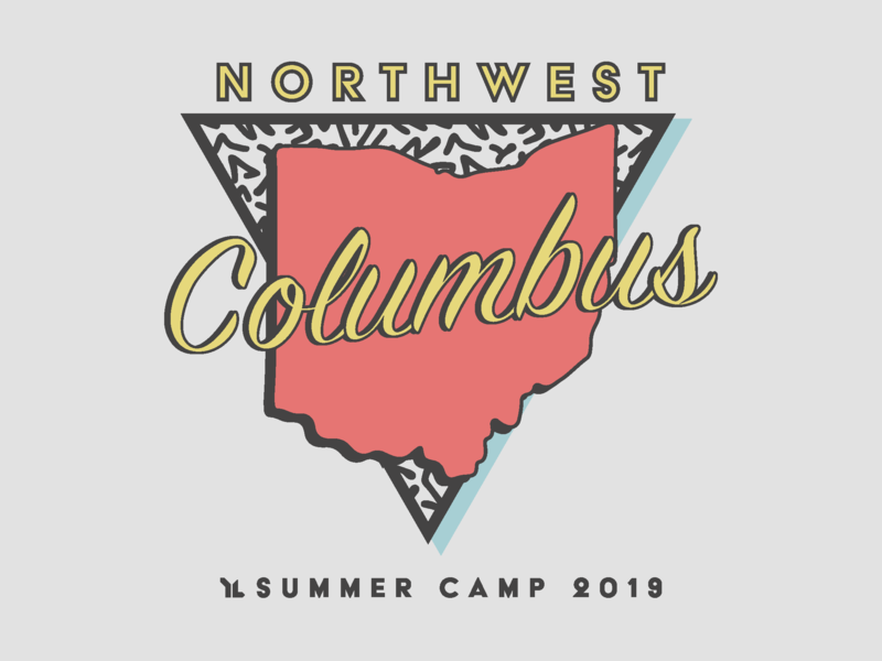 Young Life Columbus Camp Shirt '19 t-shirt design graphic design