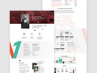V1 App - Lading page presentation