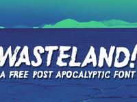 Wasteland FREE FONT!