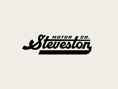 Motor Co. Branding racing mechanic garage motorsport motor craft brand identity design brand identity type custom type wordmark logo canada brand design yeg alberta edmonton