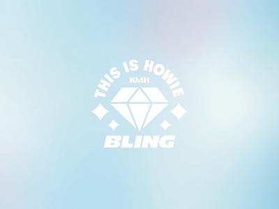 Uncut Gems Bling! elara jewlery diamond film movie poster adam sandler uncut gems a24 logo canada sticker brand design yeg alberta edmonton