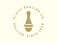 Plaza Bowling Co. Logo