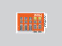 Startup Edmonton Sticker - Mercer Warehouse