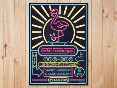 Gig Poster - Grim Fandango