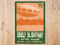Gig Poster - Oddly Slightway