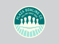 Plaza Bowling Co. Patch