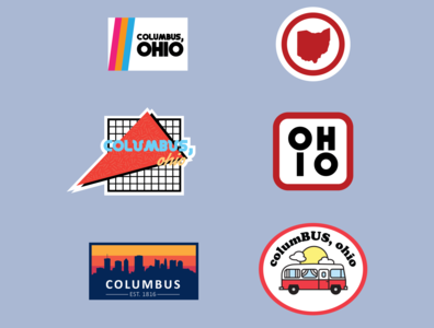 Columbus Sticker Ideas