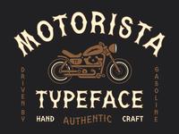 MOTORISTA Typeface