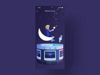 Bedtime scene of a music box