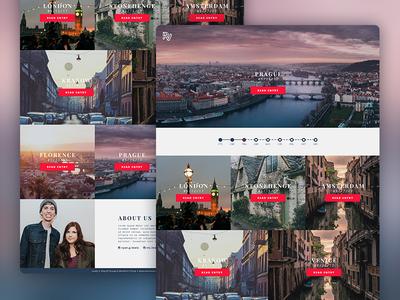 Travel Blog wordpress unsplash europe web design travel blog