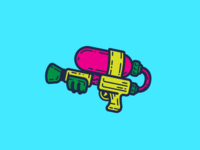 Splat! - Lapel Pin Design