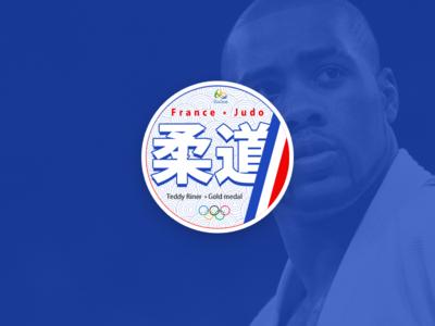 Rio 2016 - Judo France - Teddy Rinner