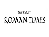 The Early Roman Times
