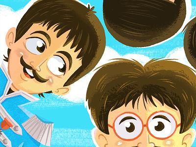 Sgt. Pepper's the beatles beatles music character design character art procreate ipad pro illustration
