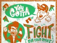 You Gotta Fight - Pizza Box Edition