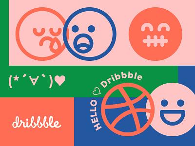 Hello Dribbble <3 love hellodribbble illustration debut