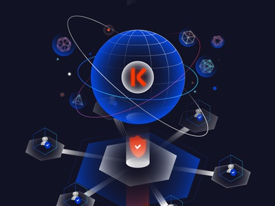 Kronos Infographic - 1 debut token fintech infographic