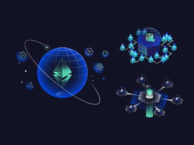 Kronos Infographic - 2 illustration token infographic fintech