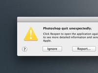 Photoshop CS6 Crash [CSS]