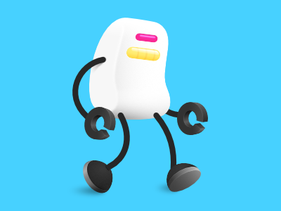 Roboto Posse Unit android character design robot