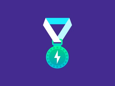 Telefónica Icons Series 1 - Medal medal illustration icon affinity designer