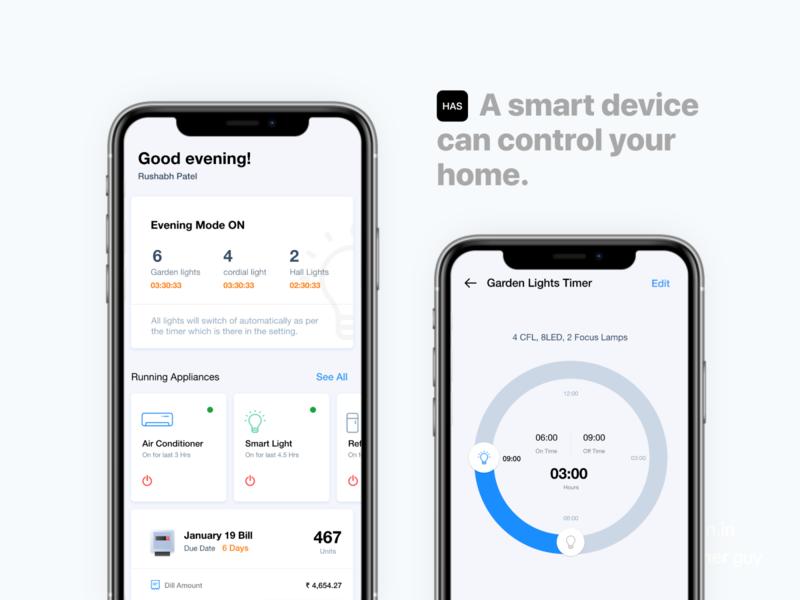 home automation uiux design device automation home design app template android uiux