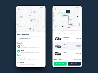 Taxi booking app redesign booking cab ios mobile app template design android uxui ui redesign taxi booking app taxi