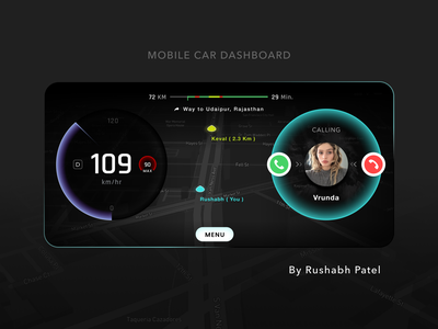Car dashboard mobile app design interaction vehicle sport electric search voice search search bar wave sound voice speak speaking incar interface ux animatin 3d illustration uiux car