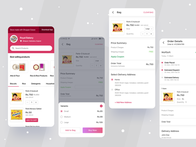 Shoper Multi vendor Ecommerce UI KIT online store online shoping sketch figma illustration app ecommerce mobile ui app template android design uikit uiux