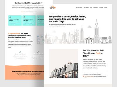 Website Landing Page vector branding illustration website concept creative uidesign website design landing page website