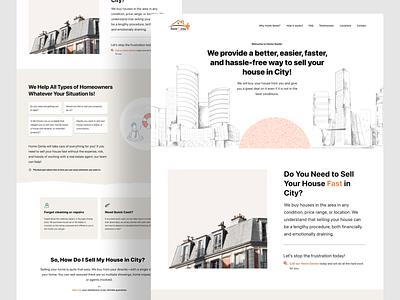 Website Landing Page vector branding illustration uiux design website concept landing page design landing page website
